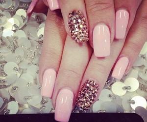 fashion, girly, and nails image