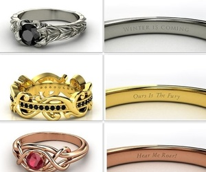 ring, lannister, and game of thrones image