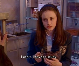 study, gilmore girls, and school image