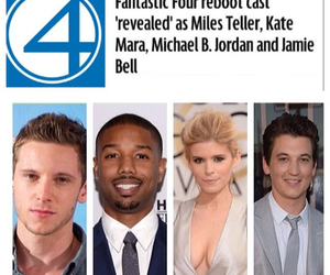 cast, Fantastic Four, and fox image