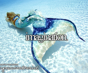 imagination, mermaid, and tail image