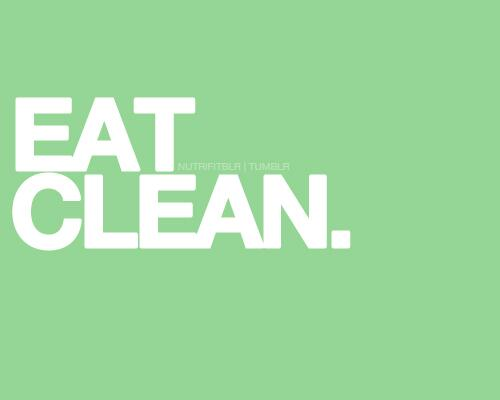 clean, eat, and food image