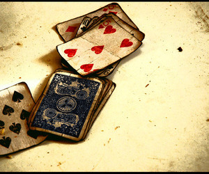 cards and old image