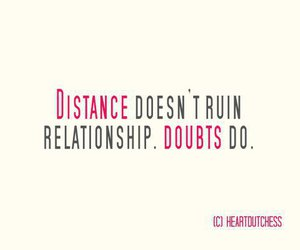 quotes, distance, and Relationship image