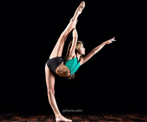 dancer, fit, and flexible image