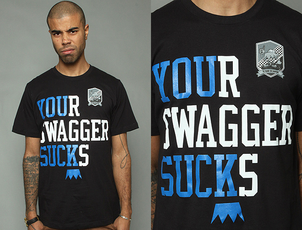 Good words Your swagger sucks t shirt