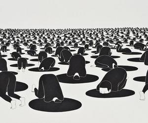 monochrome, daehyun kim, and art image