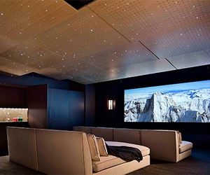 home, luxury, and cinema image