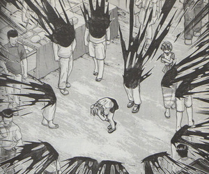 manga, elfen lied, and gore image