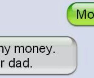 lol, mom, and money image
