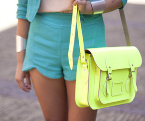 beauty, neon, and fashion image