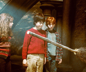 harry potter, ron weasley, and emma watson image
