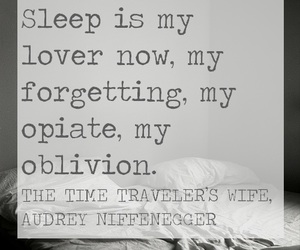 Audrey Niffenegger, quote, and the time traveler's wife image