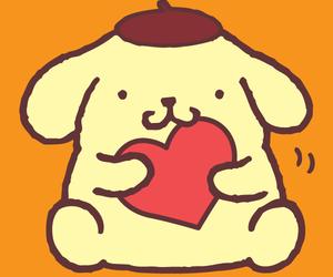 dog, sanrio, and purin image