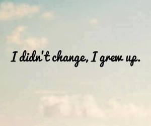 change, quote, and sky image