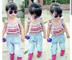 baby, casual, and fashion image