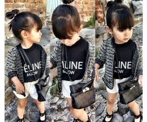 baby, celine, and fashion image