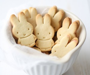 food, Cookies, and bunny image