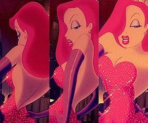 Jessica Rabbit and red image