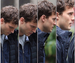 Hot, Jamie Dornan, and sideview image