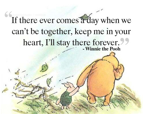 Pooh Love Quotes Pleasing Winnie The Pooh Love Quote  Famous Inspirational Wisdom Quotes