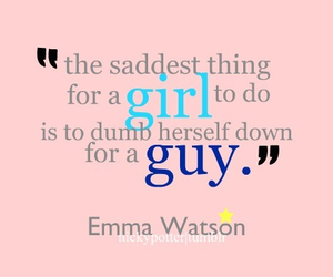 emma watson, quote, and guy image