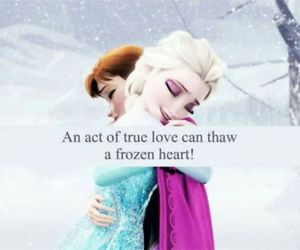 frozen, girl, and love image
