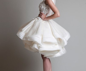 fashion, dress, and wedding image
