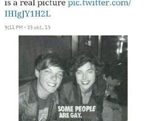 louis tomlinson, larry stylinson, and larry is real image