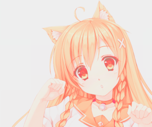 anime, kawaii, and neko image