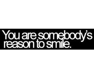 quote, smile, and reason image