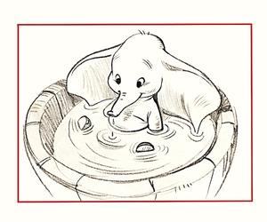 dumbo, elephant, and disney image