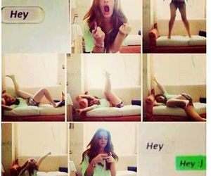 boy, text, and funny image
