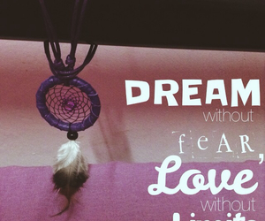 dreamcatcher, quote, and love image
