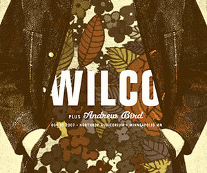 design, poster, and wilco image