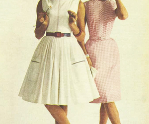 dress and 1960s image