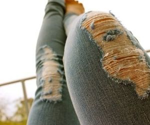 fashion, jeans, and photography image