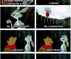 funny, rabbit, and winnie the pooh image