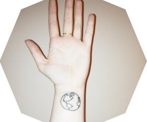 earth, atlas hands, and globe image