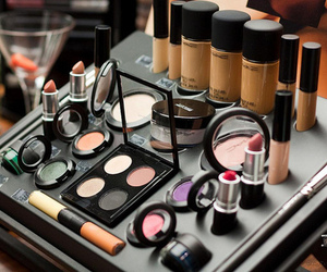 make up, makeup, and mac image