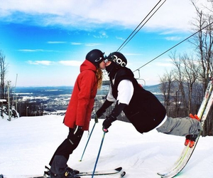 couple, moutain, and shred image