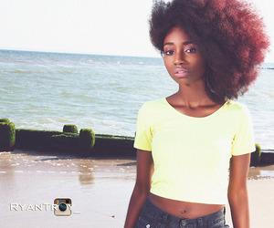 hair and natural hair image