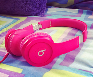 awesome, music, and pink image