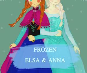 anna, disney, and love image