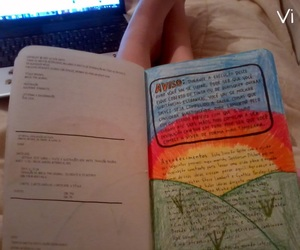 book, wreck this journal, and love image