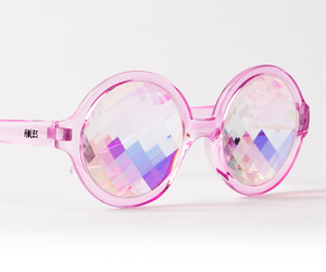 pink, glasses, and sunglasses image