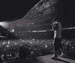 eminem, concert, and rap image