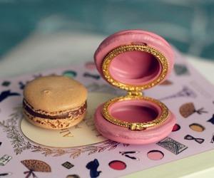 food, luxury, and macaron image