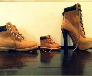 shoes, family, and timberland image