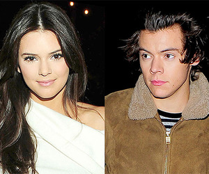 kendall jenner and Harry Styles image